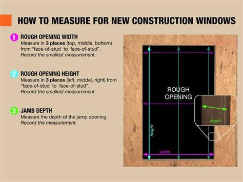 how to measure house windows for replacement measuring a window the home depot community