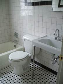 black and white tile in bathroom black and white tile bathrooms done 6 different ways
