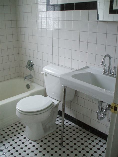 Black and white tile bathrooms done 6 different ways retro renovation