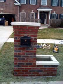 chicago brick mailbox builder rk masonry and tuckpointing