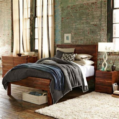 dunkles holz schlafzimmermöbel 30 coole grunge interior designs eigenartige
