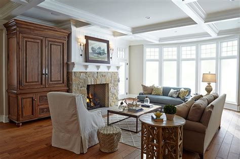 nantucket style living room classic nantucket style home