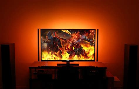Led Backlight Tv how to make your tv look like this bgr