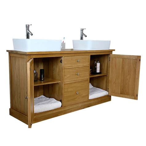 Bathroom Vanity Unit With Sink 50 Sink Vanity Unit With Oak Bathroom Cabinet Finesse