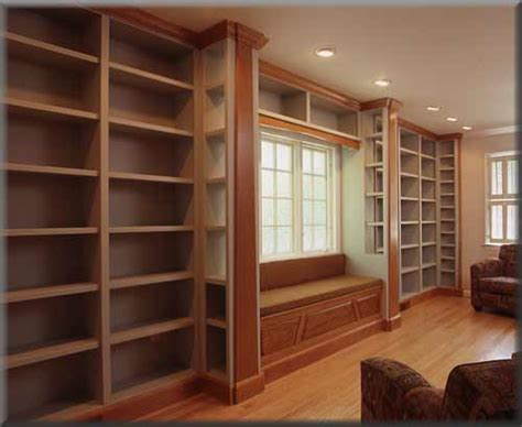 window seat flanked by bookcases inspiration home library with window seat window