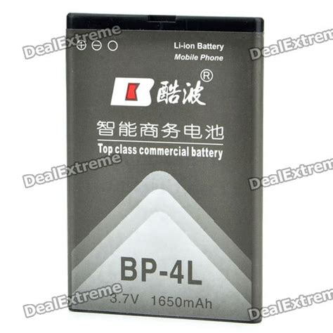 Promo Brand Baterai Nokia Bp 4l 99 replacement bp 4l 1650mah battery pack for nokia e61i n97 e55 e71 e73 e6 00 6760s 6790s free
