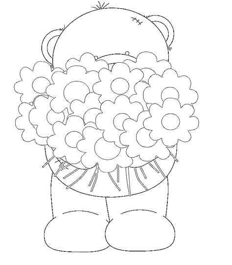 coloring pages of bunch of flowers free coloring pages of bunch flowers
