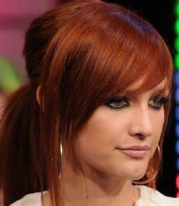 auburn colored hair auburn hair color pictures