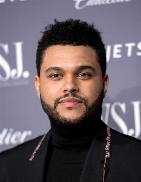 the weekends new haircut the weeknd admits drugs were a crutch for him