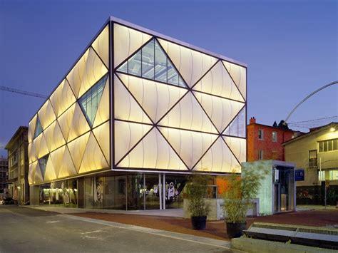 creative architecture miroiterie commercial building lausanne switzerland