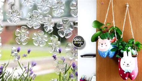 vasi con bottiglie di plastica riciclo bottiglie di plastica idee per un riciclo creativo