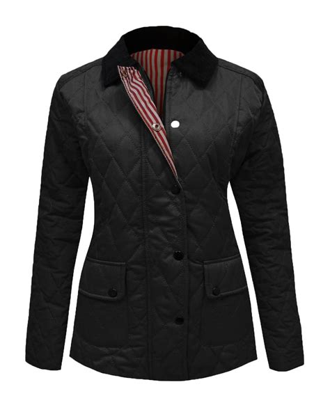 Plus Size Quilted Coat by Womens Sleeve Quilted Padded Button Zip Top Jacket Coat Plus Sizes Ebay