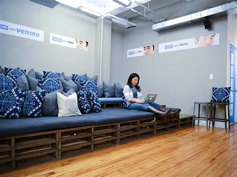 tech office design homepolish designs offices for startups business insider