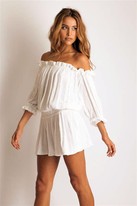 Mini Dress White Import jen s pirate harvester mini dress in white wow so pretty feminine my closet