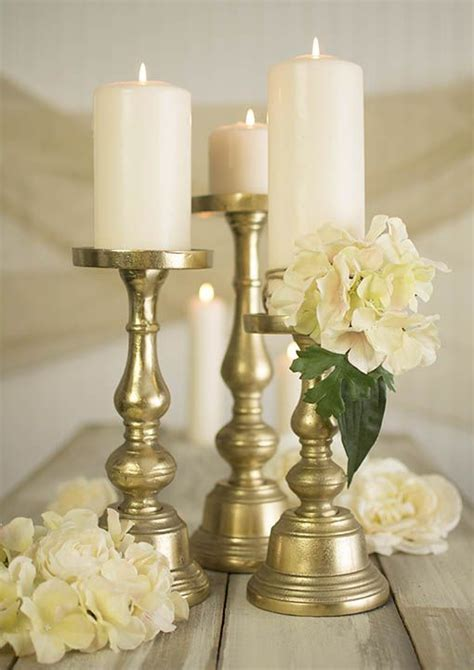 phenomenal metal pillar candle holder 25 best ideas about gold candle holders on gold candles gold votive candle holders