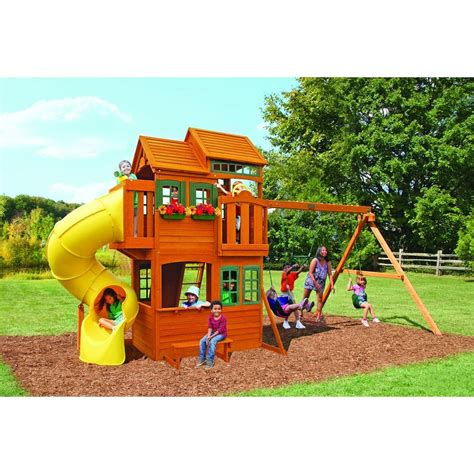 big backyard grand valley retreat playset shopyourway