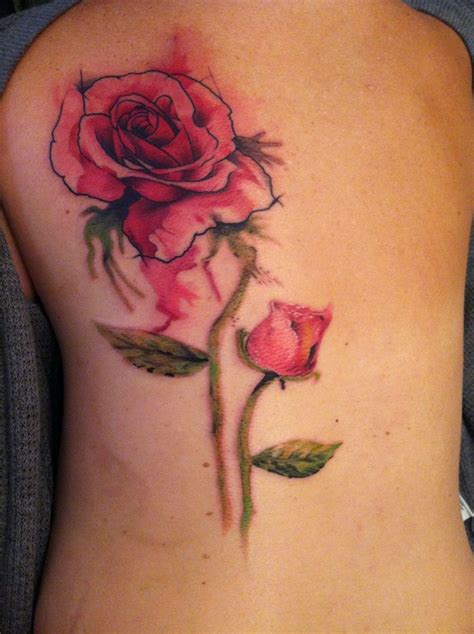 watercolor tattoos rose best 25 watercolor tattoos ideas on