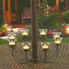 Patio Umbrella Candle Holder Diy Candle Ideas On Pinterest Candles Candle Centerpieces And Candle Holders