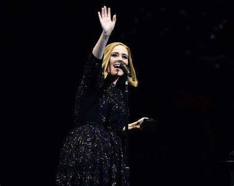 Wedding Song Adele by Adele Stops Mid Song For Audience In