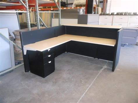 used office furniture arizona herman millr reception desk from modern modular inc new