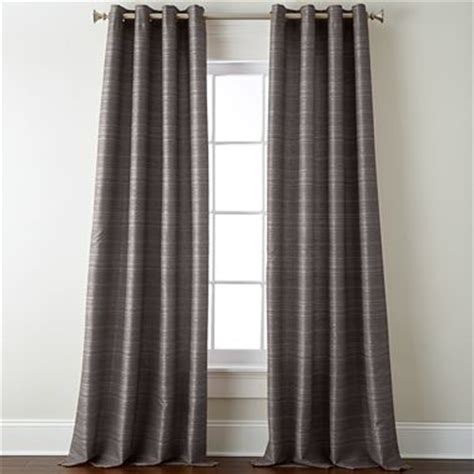 gray curtain panels studio origins grommet top curtain panel taupe gray