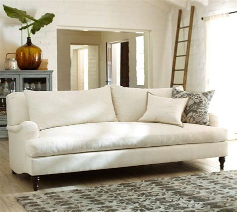 pottery barn loveseat carlisle upholstered sofa pottery barn love the