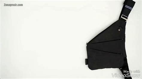 crossbody chest bag tas selempang slempang pria new arrival modern ergonomic best seller