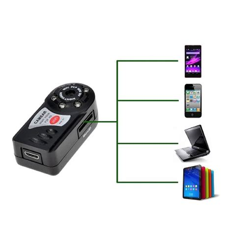1080p mini wifi ip wireless camera for android, iphone
