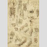Leonardo Da Vinci Drawing Mechanical | 598 x 900 jpeg 154kB