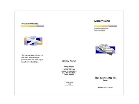 flyer templates in publisher tree service tri fold brochure template