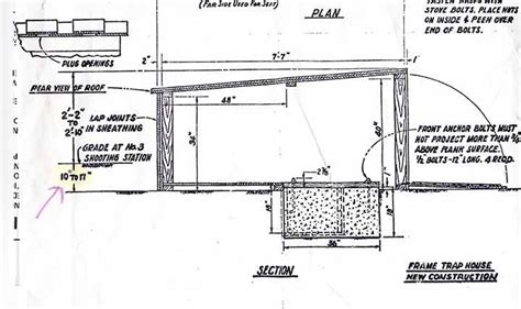 trap house plans trap shooting house plans 28 images an intro to skeet trap shooting surplus today