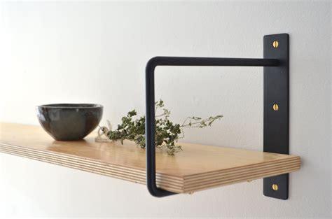 classic minimalist shelf brackets pair 201 querres 224 tablette