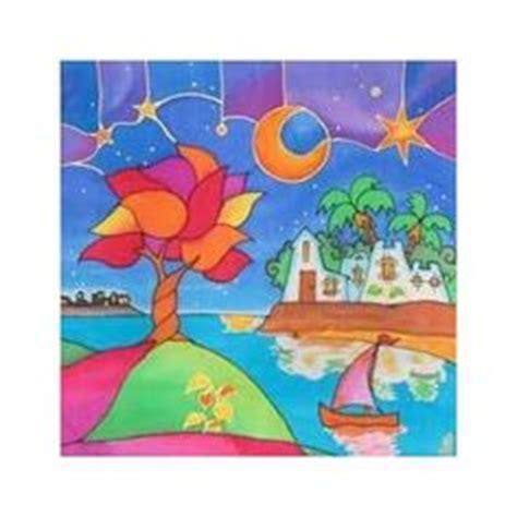 imagenes alegres y coloridas arte de pintura en seda my silky way cuadros modernos e