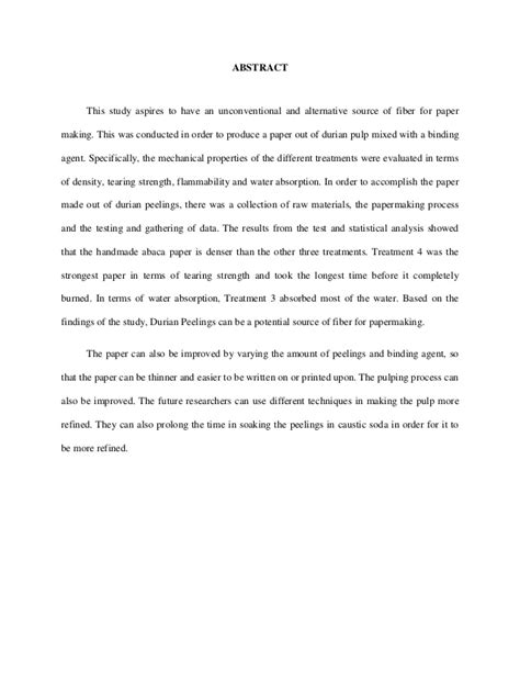 abstract of a dissertation exles abstract thesis