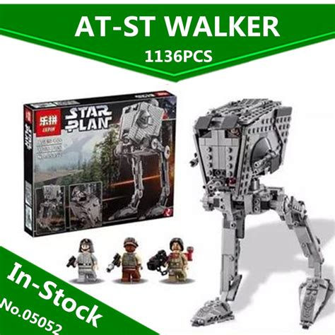 Lepin 05052 Wars Imperial At St in stock lepin 05052 1068pcs new war series the empire at st robot building blocks bricks