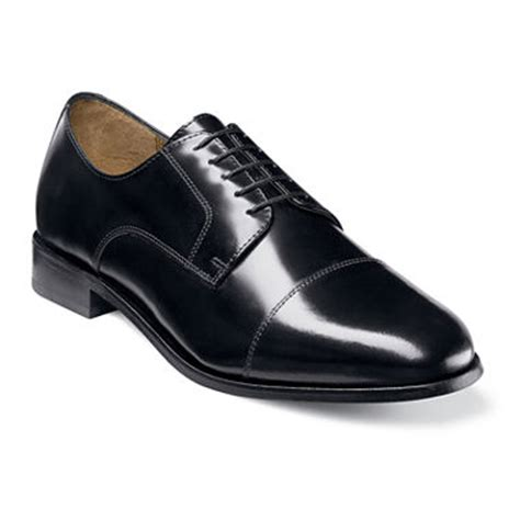 jc mens dress shoes florsheim 174 broxton mens cap toe oxford dress shoes jcpenney