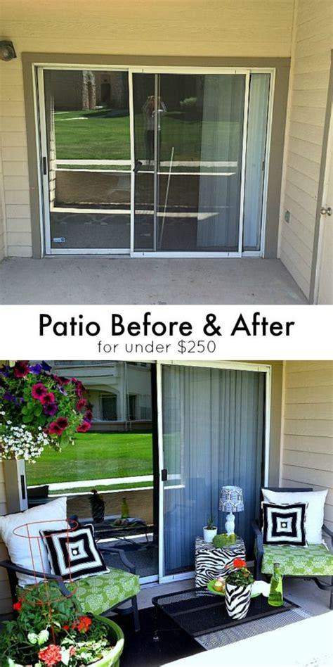 low budget backyard makeover before and after patio sliding doors jello and outdoor