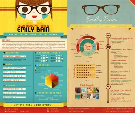 Best Resume Templates Etsy by Creative Resume For Graphic Artist