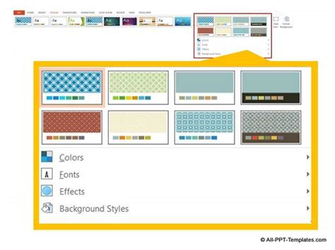 powerpoint design variants 5 ways to customize powerpoint design themes