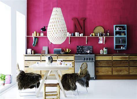 roze met hout villa d esta interieur en wonen