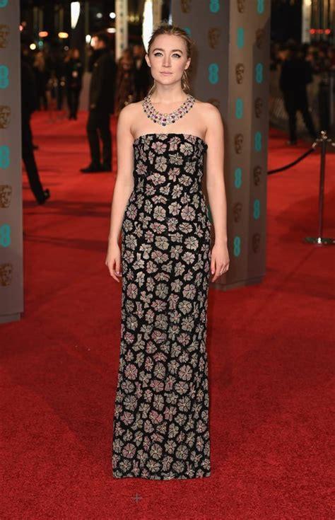2016 bafta awards red carpet baftas 2016 saoirse ronan in burberry tom lorenzo