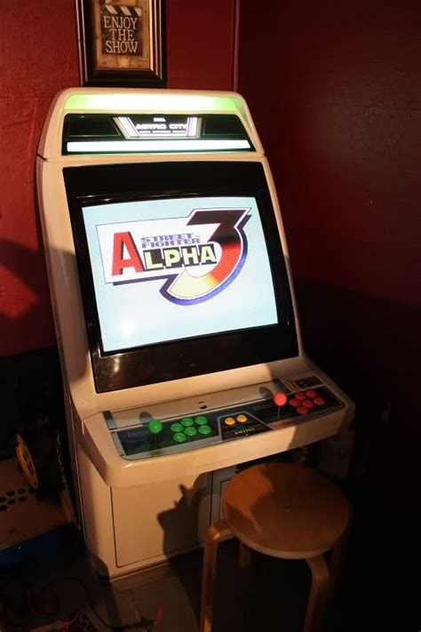 Alpha Cabinet by Fighter Alpha 3 Arcade Cabinet Arcade Cabinets