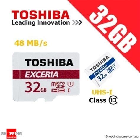 toshiba exceria 32gb microsd class 10 uhs i 48mb s micro sd tf memory card shopping