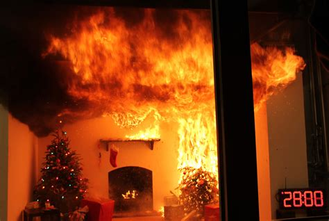 protect your home and family from your christmas tree