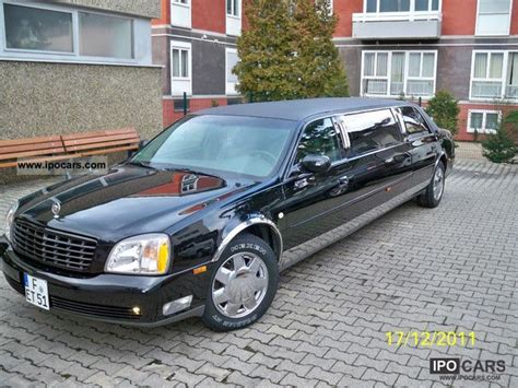 2000 cadillac capacity 2000 cadillac stretch limousine car photo and specs