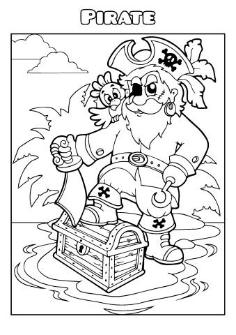 Pirate Coloring Book Template How To Make A Pirate Coloring Book Coloring Book Templates
