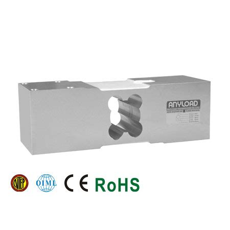 Load Cell Single Point Alumunium Material Zemic Lssp L6f 500kg 108maun single point load cell anyload
