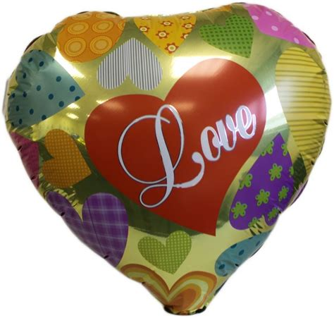Balon Foil I You 3 Tingkat balon foil hati motif i you balon foil i you