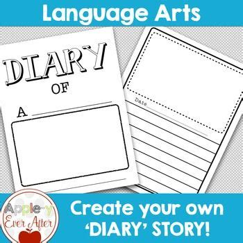 create your own diary story funny animals and student