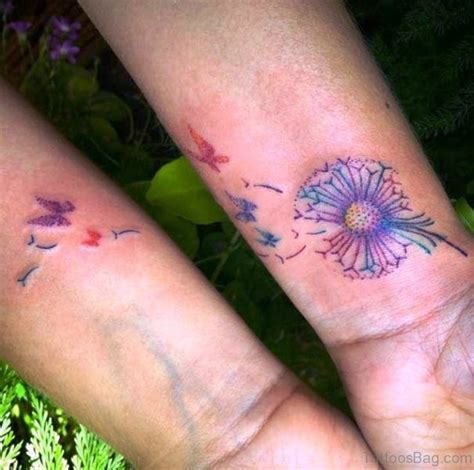 dandelion wrist tattoos 32 lovely dandelion tattoos on wrist